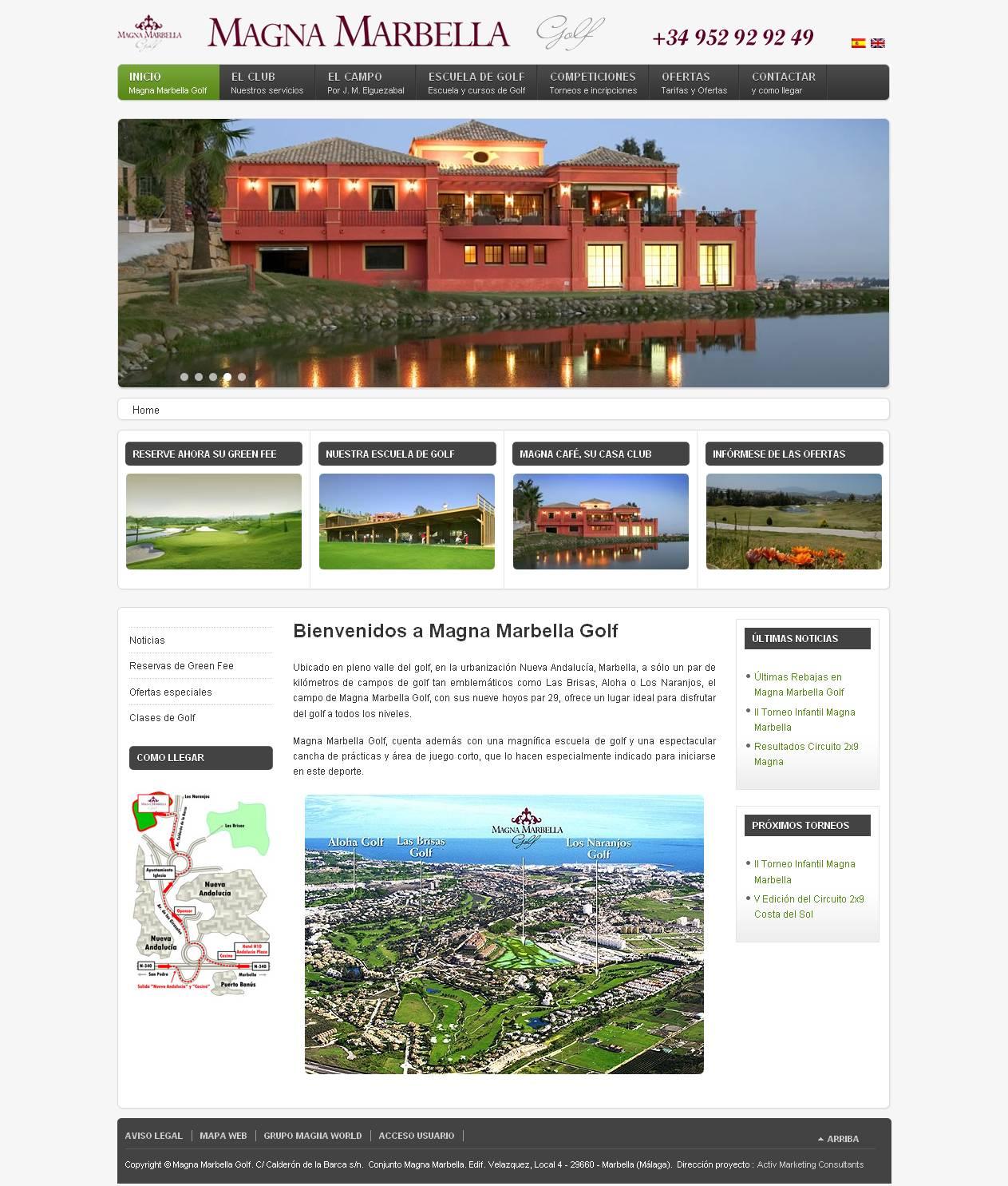 magna golf